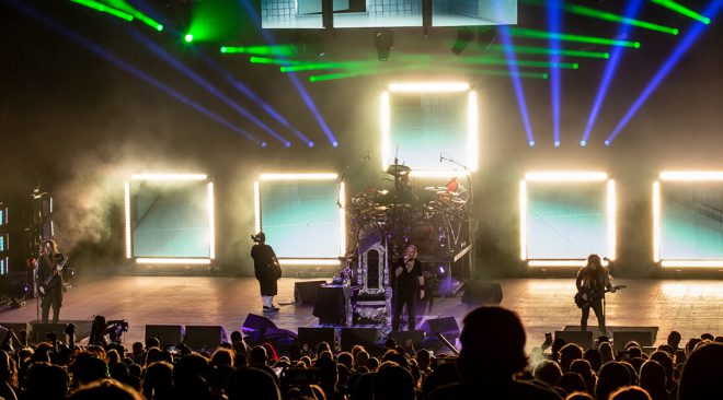 PHOTOS: Korn and Staind a contrast in COVID era at Shoreline show