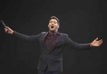 REVIEW: Michael Bublé charms at long-awaited Chase Center show