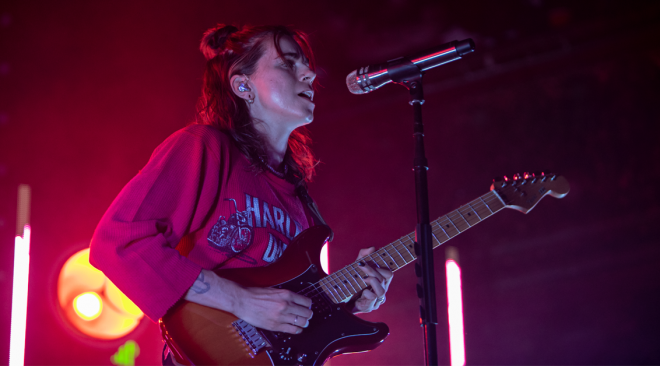 PHOTOS: PVRIS stays golden at the Great American Music Hall