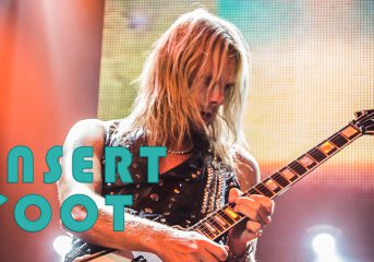 Insert Foot: Judas Priest's Richie Faulkner is more metal than any of us